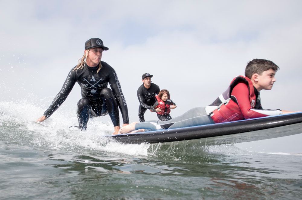Catching Waves for Well-Being
